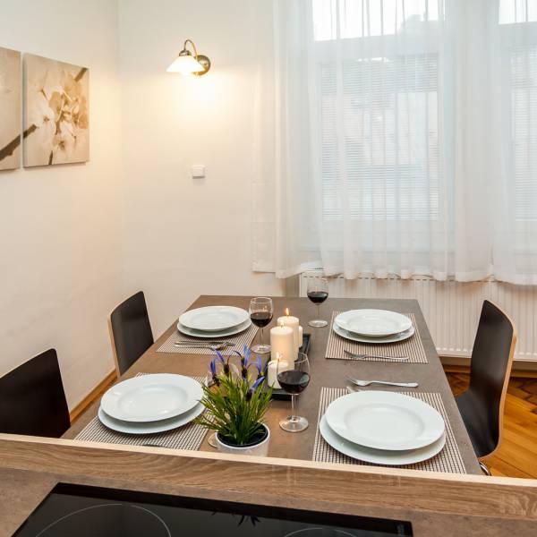 Apartment A - Kitchen